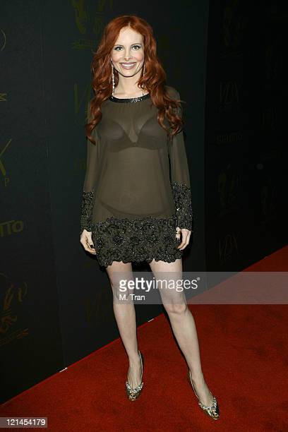Phoebe Price during Los Angeles Runway Debut of Marceau Clothing Line at Boulevard 3 in Hollywood California United States