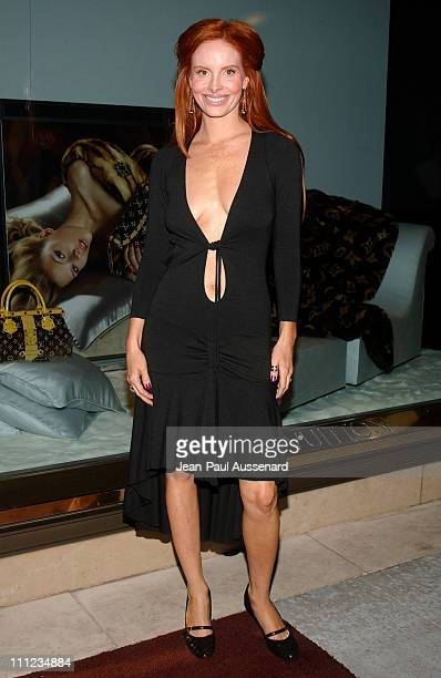 Phoebe Price during Louis Vuitton Cocktail Party to Benefit Project Angel Food at Louis Vuitton Store in Beverly Hills California United States