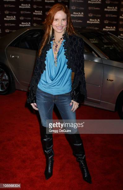 Phoebe Price during Mercedes-Benz Spring 2005 L.A. Fashion Week at Smashbox Studios - Cadillac Presents Rock & Republic Spring 2005 Fashion Show -...