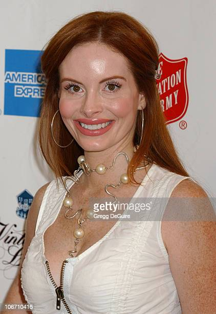 Phoebe Price during Minnie Driver Hosts Vintage LA Fashion Show Benefiting The Salvation Army Alegria at The New Mart in Los Angeles, California,...