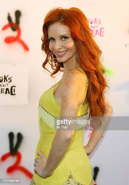 Phoebe Price during Punk's Not Dead Los Angeles Premiere Arrivals at Henry Fonda Theater in Hollywood California United States