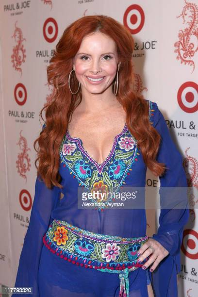 Phoebe Price during Sophie Albou's Temporary Paul and Joe Collection for Target Pops Up on Melrose Red Carpet at Private Boutique in Los Angeles...