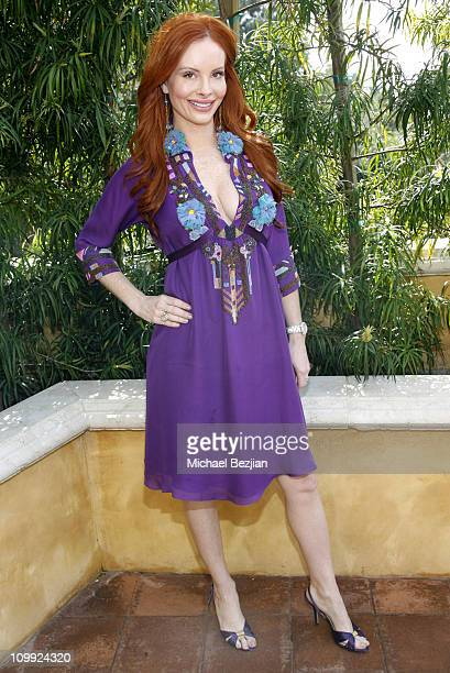 Phoebe Price during THE HOUSE OF FLAUNT OSCAR RETREAT - Day 5 at Private Residence in Los Angeles, CA, United States.