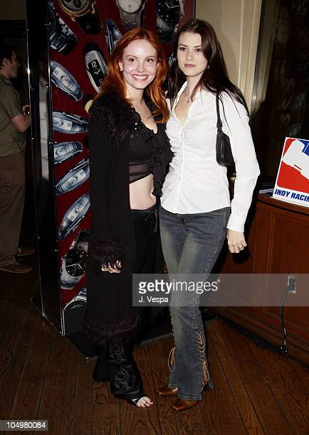 Phoebe Price Erica Lookadoo during Resident Evil Premiere After Party at the GQ Lounge at GQ Lounge in Los Angeles California United States
