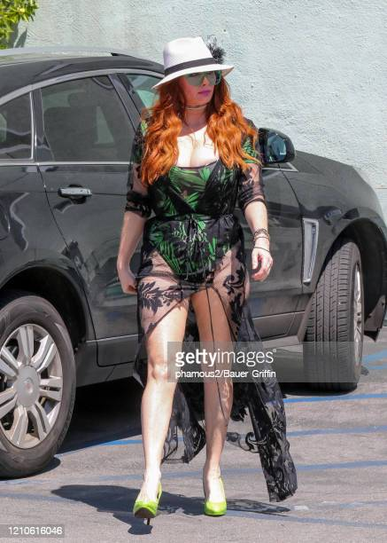 Phoebe Price is seen on April 21 2020 in Los Angeles California