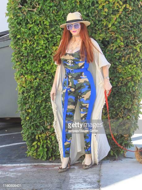 Phoebe Price is seen on August 09 2019 in Los Angeles California