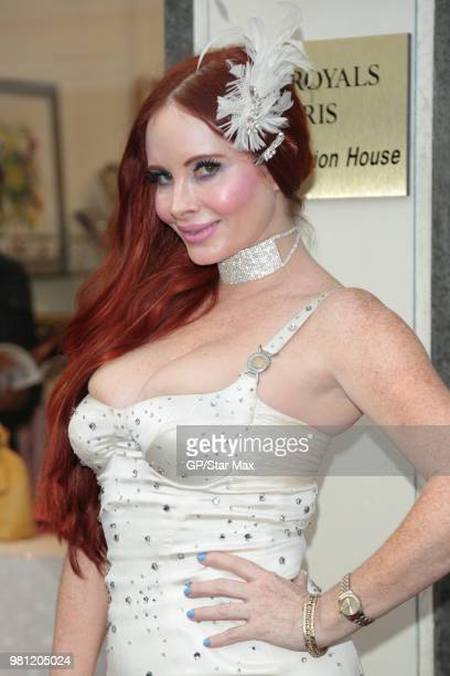 Phoebe Price is seen on June 21 2018 in Los Angeles CA