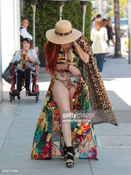 Phoebe Price is seen on May 04 2017 in Los Angeles California