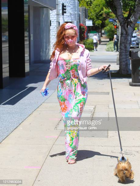 Phoebe Price is seen on May 13, 2020 in Los Angeles, California.