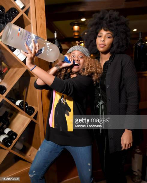 Phoebe Robinson and Jessica Williams of 2 Dope Queens attend 2018 HBO Documentary Films Party At Sundance 2018 during the 2018 Sundance Film Festival...