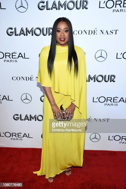 Phoebe Robinson attends the 2018 Glamour Women Of The Year Awards Women Rise on November 12 2018 in New York City