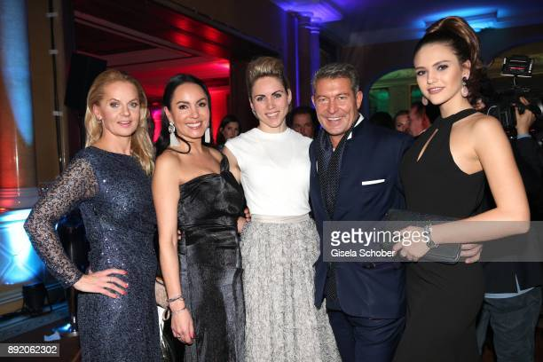 Phoebe Rocchi Ana Grote Danila Langguth Jewelry designer of 'Juwelenschmiede' Thomas Jirgens and Clara Buchner during the Audi Generation Award 2017...