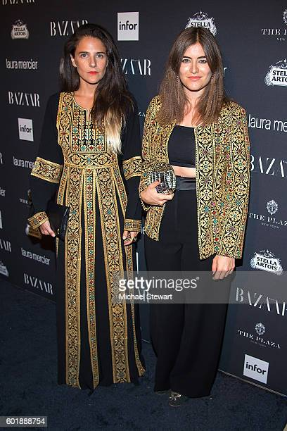Phoebe Stephens and Annette Stephensattend Harper's BAZAAR Celebrates 'ICONS By Carine Roitfeld' at The Plaza Hotel on September 9 2016 in New York...