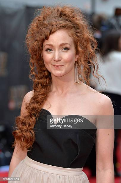Phoebe Thomas attends The Olivier Awards at The Royal Opera House on April 12 2015 in London England