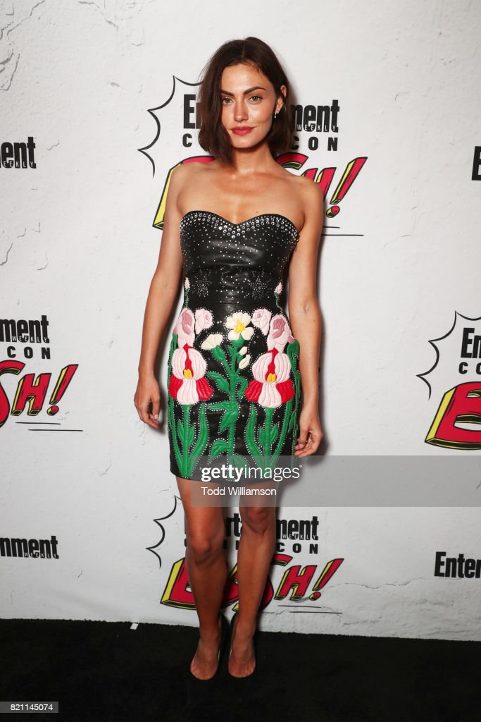 Phoebe Tonkin at Entertainment Weekly's annual Comic-Con party in celebration of Comic-Con 2017 at Float at Hard Rock Hotel San Diego on July 22, 2017 in San Diego, California.