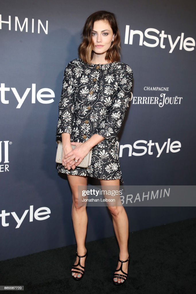 Phoebe Tonkin at the 2017 InStyle Awards presented in partnership with FIJI WaterAssignment at The Getty Center on October 23, 2017 in Los Angeles, California.
