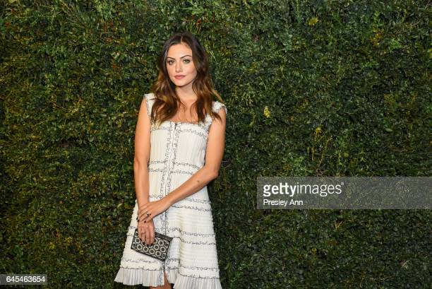 Phoebe Tonkin attends Charles Finch and CHANEL PreOscar Awards Dinner at Madeo Restaurant on February 25 2017 in Los Angeles California