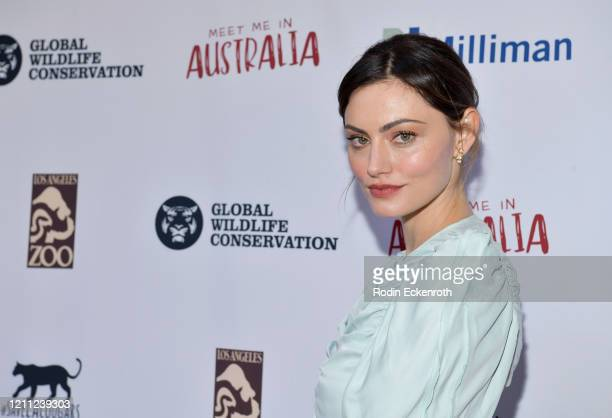 """Phoebe Tonkin attends """"Meet Me In Australia"""" To Benefit Australia Wildfire Relief Efforts, hosted by The Greater Los Angeles Zoo Association, at Los..."""