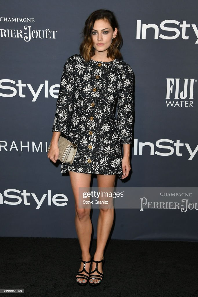 Phoebe Tonkin attends the 3rd Annual InStyle Awards at The Getty Center on October 23, 2017 in Los Angeles, California.