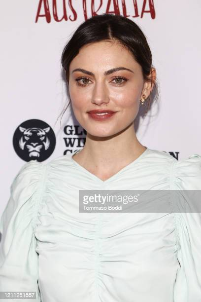 Phoebe Tonkin attends The Greater Los Angeles Zoo Association Hosts Meet Me In Australia To Benefit Australia Wildfire Relief Efforts at Los Angeles...