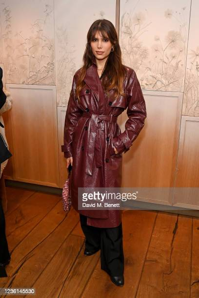 Phoebe Torrance attends 4th & Reckless x Elsa Hosk campaign launch at Hide Restaurant on October 26, 2021 in London, England.