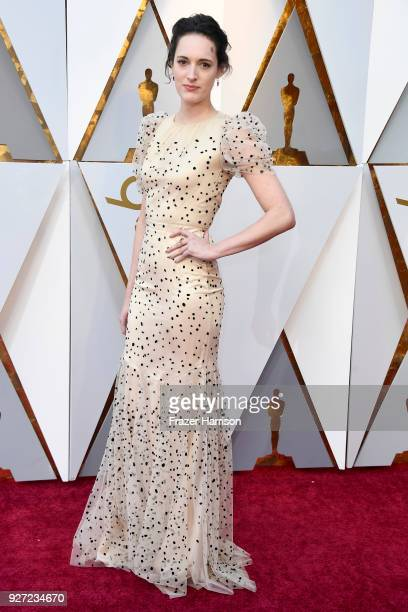 Phoebe Waller Bridge attends the 90th Annual Academy Awards at Hollywood Highland Center on March 4 2018 in Hollywood California