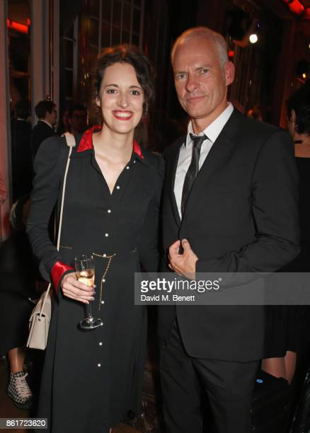 Phoebe WallerBridge and Director Martin McDonagh attend the after party for 'Three Billboards Outside Ebbing Missouri' at the closing night gala of...