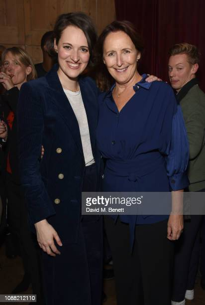 Phoebe WallerBridge and Fiona Shaw attend a special screening of Fleabag at the BFI Southbank on January 24 2019 in London England