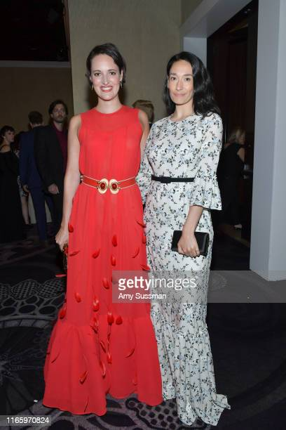 Phoebe WallerBridge and Sian Clifford attend the TCA Awards at The Beverly Hilton Hotel on August 03 2019 in Beverly Hills California