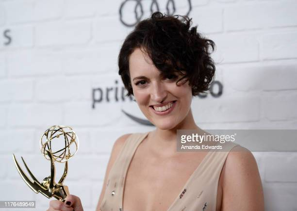 Phoebe Waller-Bridge arrives at the Amazon Prime Video Post Emmy Awards Party 2019 on September 22, 2019 in Los Angeles, California.