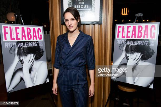 """Phoebe Waller-Bridge attends """"Fleabag"""" opening night party at Bistrot Leo on March 7, 2019 in New York City."""