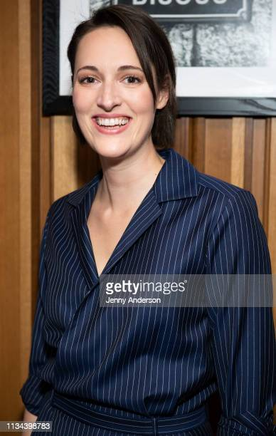 Phoebe WallerBridge attends Fleabag opening night party at Bistrot Leo on March 7 2019 in New York City