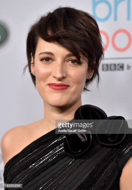 Phoebe Waller-Bridge attends the 2019 British Academy Britannia Awards presented by American Airlines and Jaguar Land Rover at The Beverly Hilton...