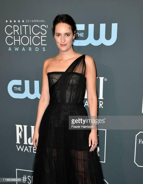 Phoebe Waller-Bridge attends the 25th Annual Critics' Choice Awards at Barker Hangar on January 12, 2020 in Santa Monica, California.