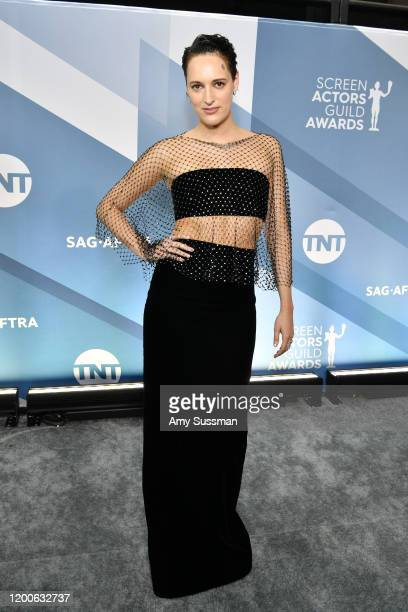 Phoebe Waller-Bridge attends the 26th Annual Screen ActorsGuild Awards at The Shrine Auditorium on January 19, 2020 in Los Angeles, California.