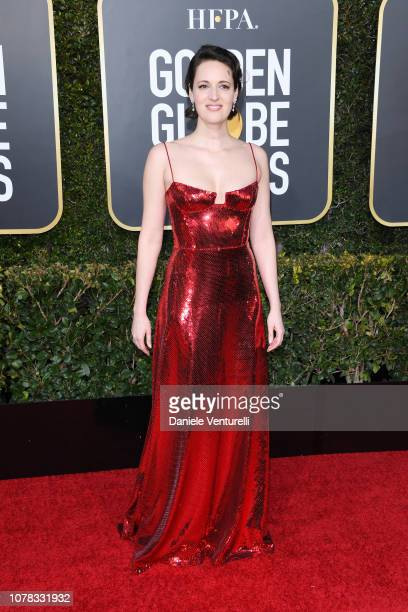 Phoebe WallerBridge attends the 76th Annual Golden Globe Awards at The Beverly Hilton Hotel on January 6 2019 in Beverly Hills California
