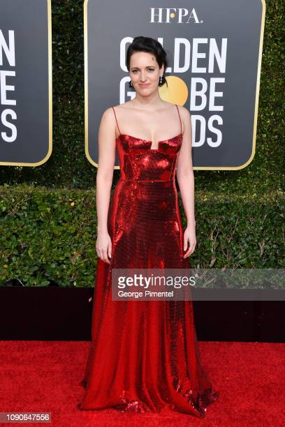 Phoebe WallerBridge attends the 76th Annual Golden Globe Awards held at The Beverly Hilton Hotel on January 06 2019 in Beverly Hills California