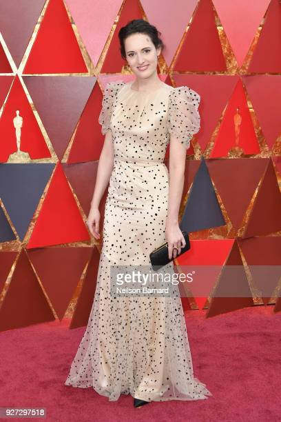 Phoebe WallerBridge attends the 90th Annual Academy Awards at Hollywood Highland Center on March 4 2018 in Hollywood California