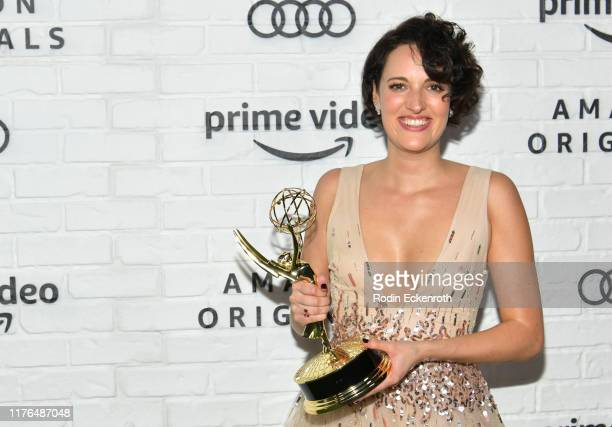 Phoebe Waller-Bridge attends the Amazon Prime Video Post Emmy Awards Party 2019 on September 22, 2019 in Los Angeles, California.