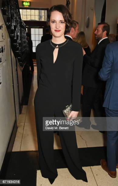 Phoebe WallerBridge attends the British Academy Television Craft Awards at The Brewery on April 23 2017 in London United Kingdom