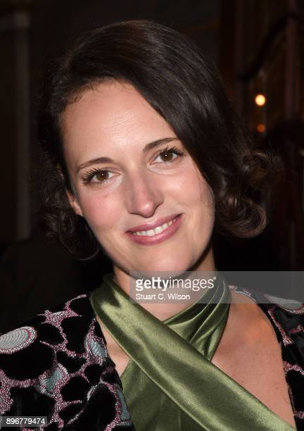 Phoebe WallerBridge attends the opening night of 'Hamilton' at Victoria Palace Theatre on December 21 2017 in London England