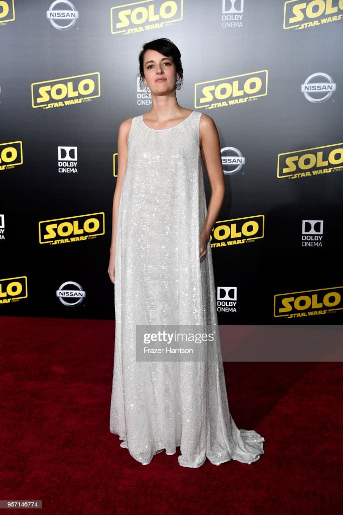 Phoebe Waller-Bridge attends the premiere of Disney Pictures and Lucasfilm's 'Solo: A Star Wars Story' at the El Capitan Theatre on May 10, 2018 in Los Angeles, California.