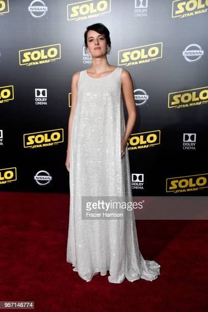Phoebe WallerBridge attends the premiere of Disney Pictures and Lucasfilm's 'Solo A Star Wars Story' at the El Capitan Theatre on May 10 2018 in Los...