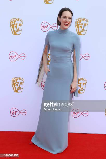 Phoebe Waller-Bridge attends the Virgin Media British Academy Television Awards 2019 at The Royal Festival Hall on May 12, 2019 in London, England.