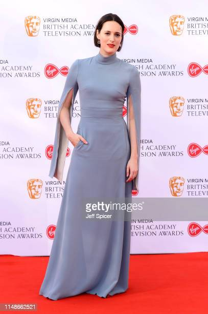 Phoebe WallerBridge attends the Virgin Media British Academy Television Awards 2019 at The Royal Festival Hall on May 12 2019 in London England