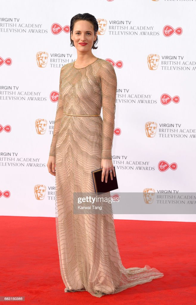 Phoebe Waller-Bridge attends the Virgin TV BAFTA Television Awards at The Royal Festival Hall on May 14, 2017 in London, England.