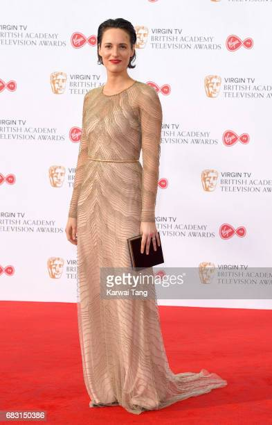Phoebe WallerBridge attends the Virgin TV BAFTA Television Awards at The Royal Festival Hall on May 14 2017 in London England