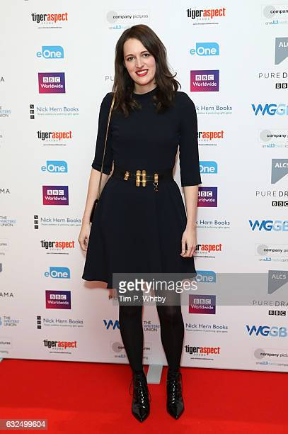 Phoebe WallerBridge attends The Writers' Guild Awards at Royal College Of Physicians on January 23 2017 in London England