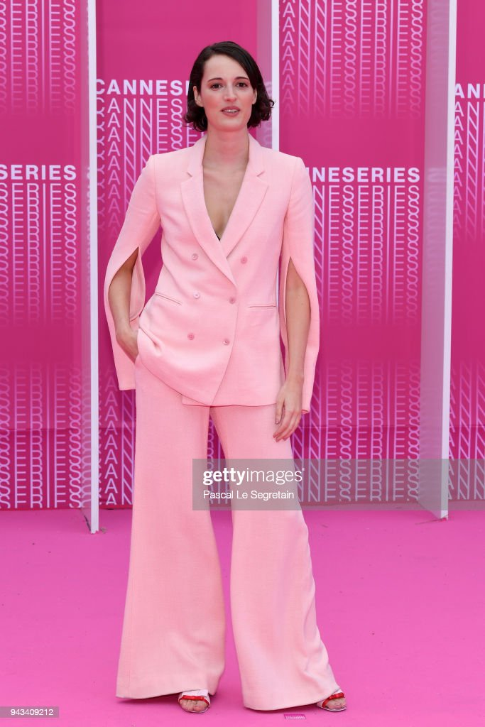 """Killing Eve"" and ""When Heroes Fly"" Pink Carpet Arrivals - The 1st Cannes International Series Festival"