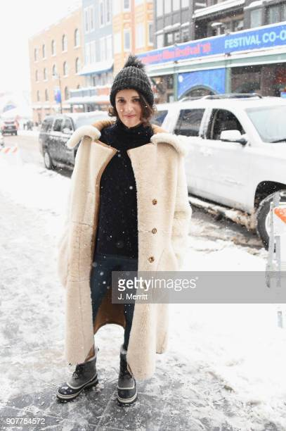 Phoebe WallerBridge is seen at the 2018 Sundance Film Festival wearing SOREL on January 20 2018 in Park City Utah